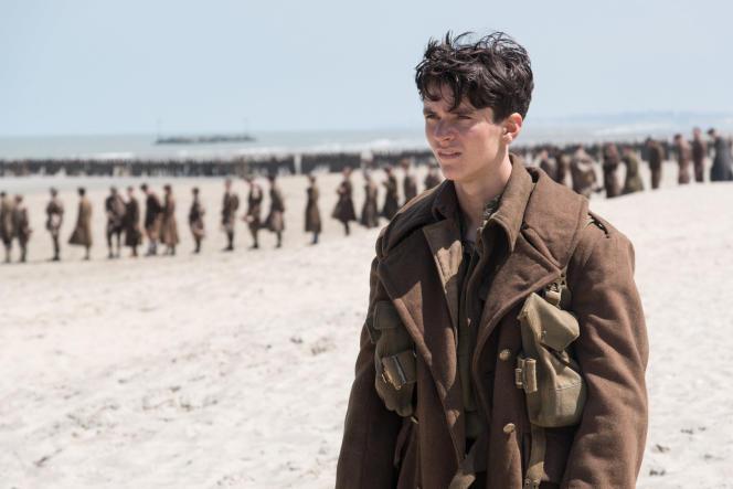 Fionn Whitehead dans «Dunkerque», de Christopher Nolan.