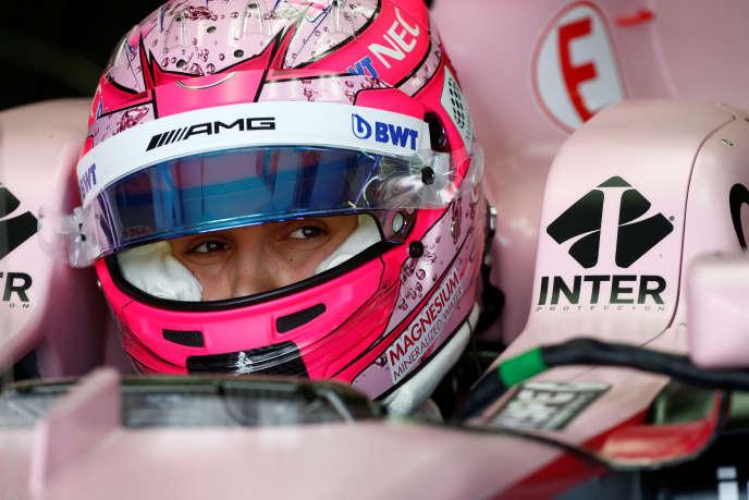 Melbourne, le 24 mars 2016. Esteban Ocon participe aus essais avant le Grand Prix de dimanche.