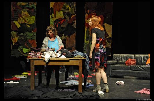«Des robes sous mes pieds», pièce présentée au Figra, au Touquet-Paris-Plage, le 23 mars.