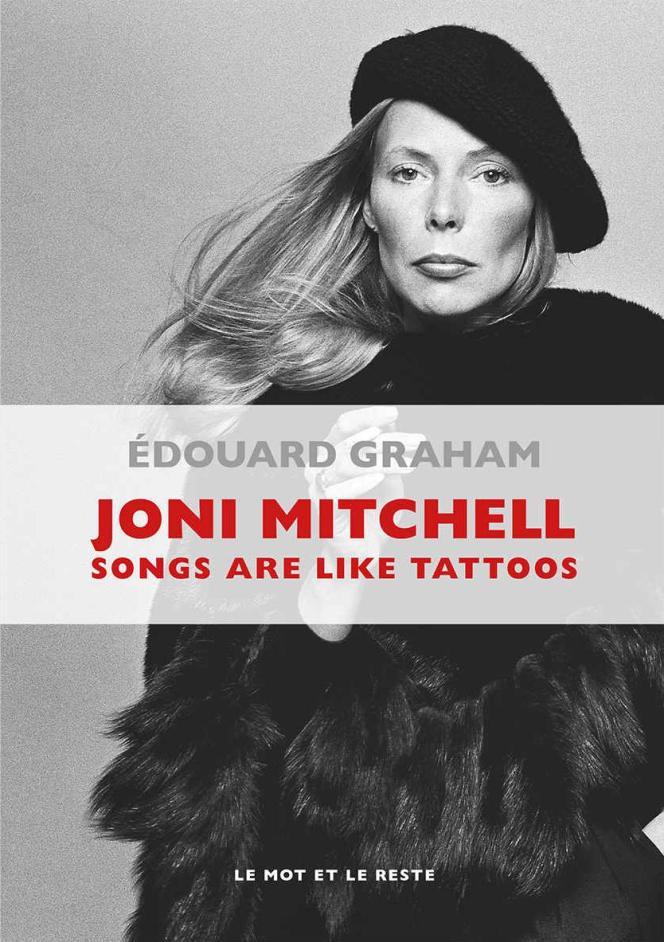 La couverture du livre d'Edouard Graham consacré à Joni Mitchell.