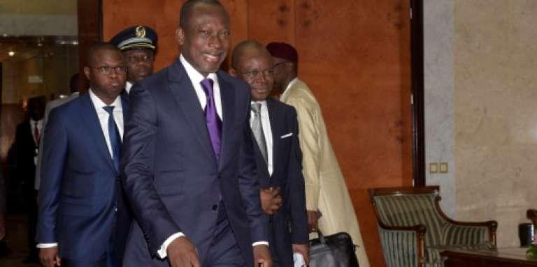 Le président béninois Patrice Talon à Dakar, en juin 2016