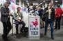 Le stand de la «French tech» lors du Consumer Electronic Show (CES) de Las Vegas (Nevada), le 5 janvier.