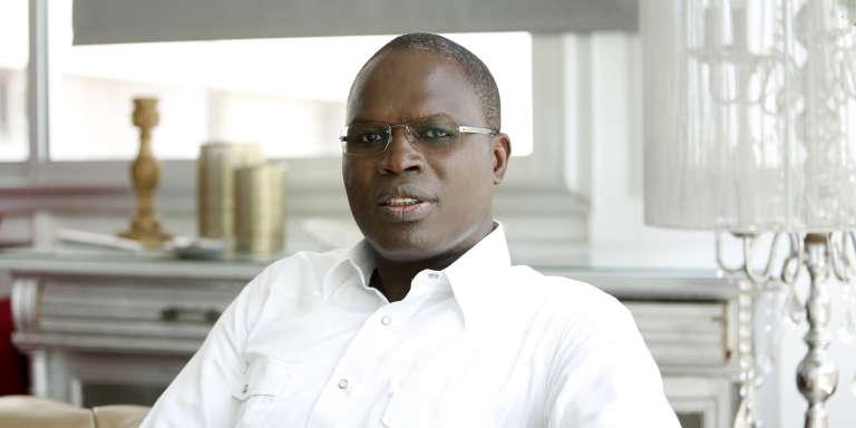 Khalifa Sall, maire de Dakar, incarcéré depuis le 7 mars 2017 à la prison de Rebeuss.