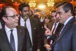 Frnaçois Hollande et François Fillon, le 22 février 2017.