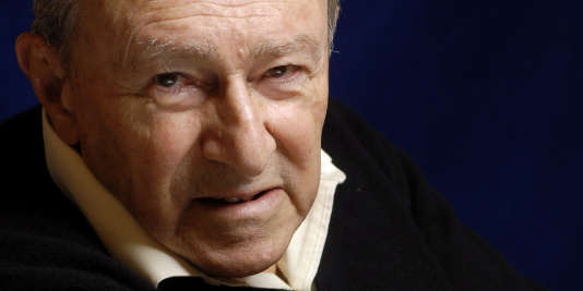 Serge Doubrovsky, en 2001.
