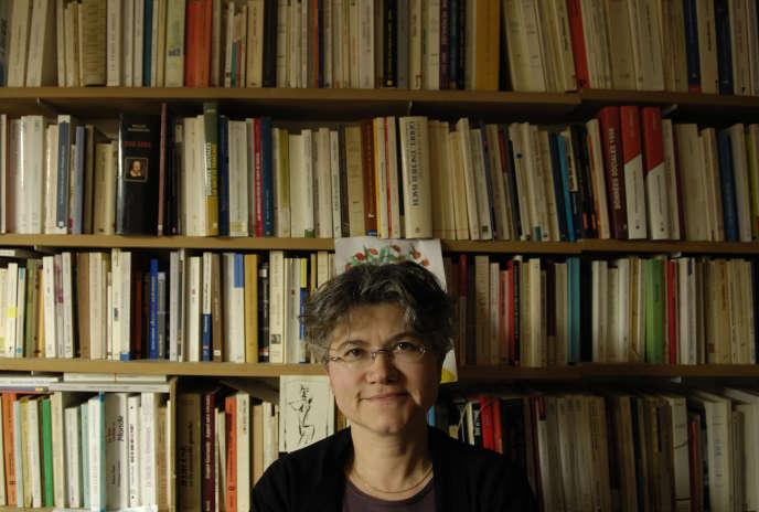 La philosophe française Dominique Méda, en 2007, à Paris.
