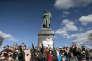 Manifestation pour dénoncer la corruption du pouvoir, à Moscou, le 26 mars.