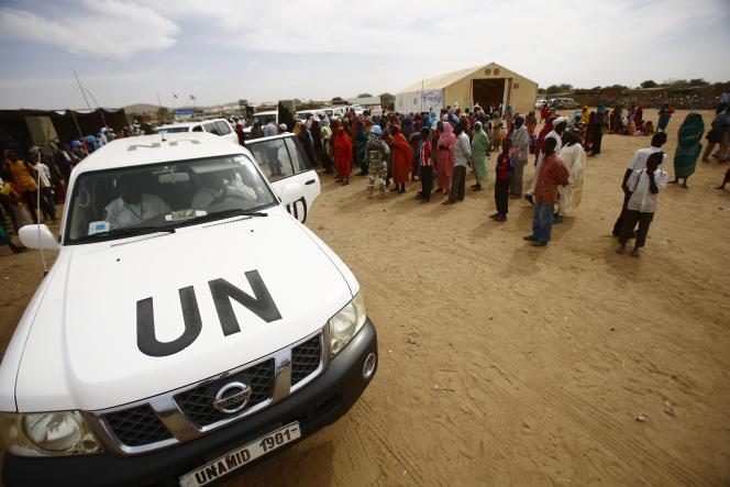 Le camp de réfugiés de Nyala, au Darfour du Sud.