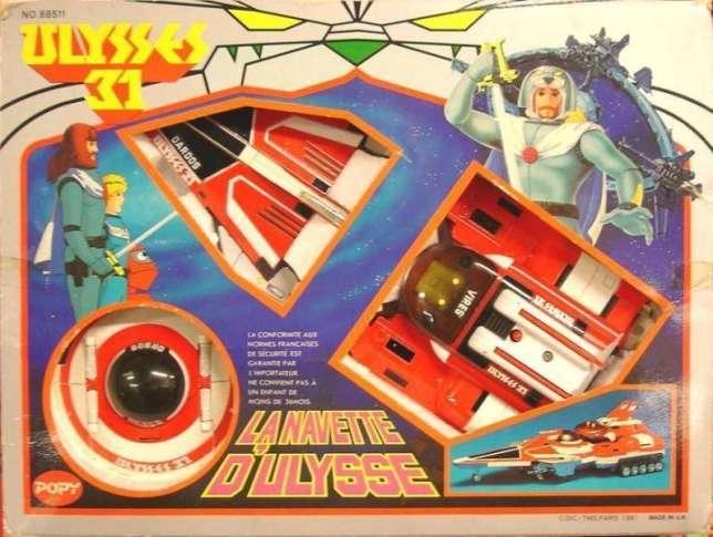En 1980, Bandai rachète le japonais Popy, déjà implanté en France, et utilise la marque pour commercialiser ses premiers jouets Ulysse 31.