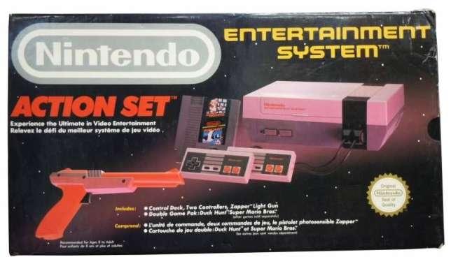 De 1988 à 1993, c'est Bandai qui distribue la NES de Nintendo en France.