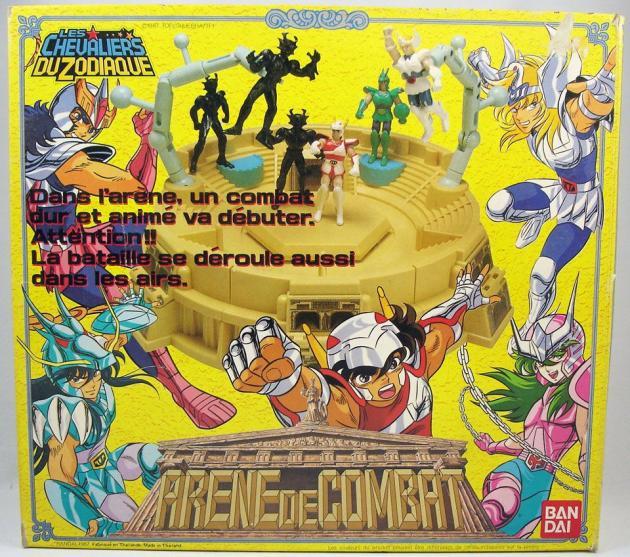 La gamme des «Chevaliers du Zodiaque», l'un des plus grands succès de Bandai France dans les années 1980.