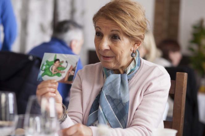 Tassadit Mandi dans le film français de Lidia Leber Terki,« Paris la blanche».