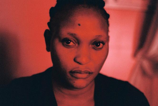 Véro Tshanda Beya, l'actrice principale du film « Félicité » d'Alain Gomis, à Paris en mars 2017.
