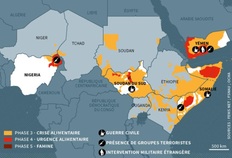 """Résultat de recherche d'images pour """"CORNE DE L'AFRIQUE ET GRANDS LACS, violences, 2017, 2018"""""""