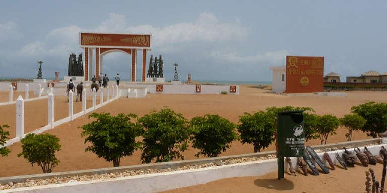 La Porte du non-retour à Ouidah, au Bénin.