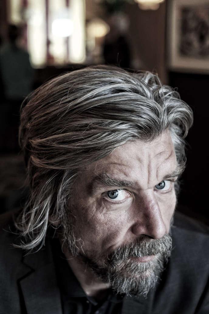 Karl Ove Knausgaard en 2015.