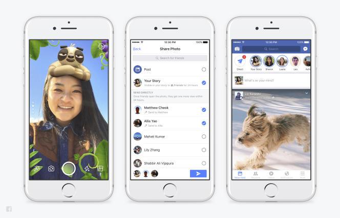 Facebook généralise cette semaine ses stories et filtres, en test depuis quelques mois dans certaines zones du monde.