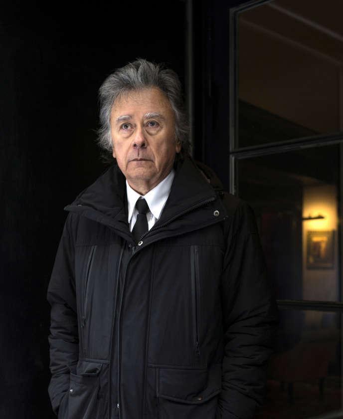 L'écrivain et scénariste Hugues Pagan, 2017.