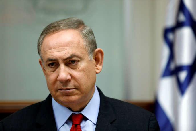 Benyamin Nétanyahou, le 16 mars à Jérusalem.