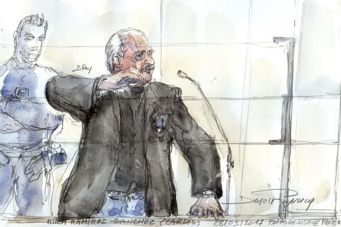 Agé de 67 ans, celui qu'on surnommait «le Chacal» a déjà été condamné deux fois à perpétuité, en1997 puis en2011.L'attentat du Drugstore Publicis avait fait deux morts et 34 blessés à Paris en septembre1974.