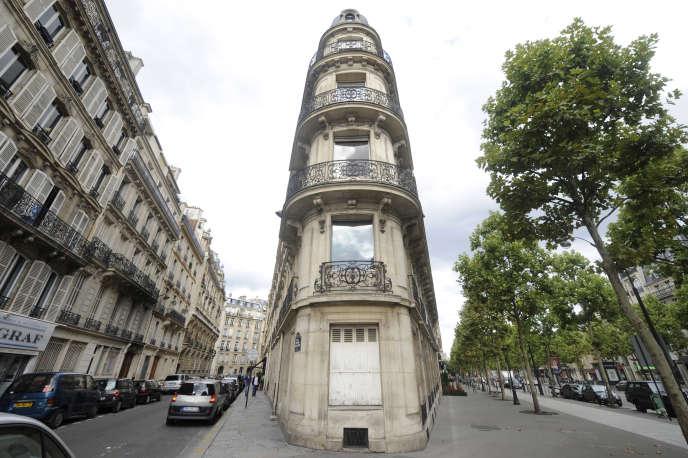 Avenue Friedland, dans le 8e arrondissement, à Paris.