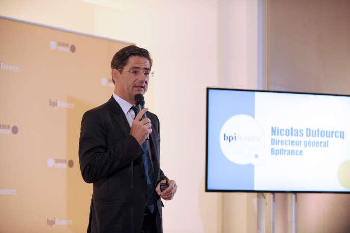 Nicolas Dufourcq,directeur général de la banque publique d'investissement Bpifrance.
