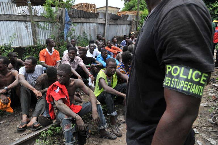 Coup de filet des «stups», le 28 mai 2013, à Abidjan.