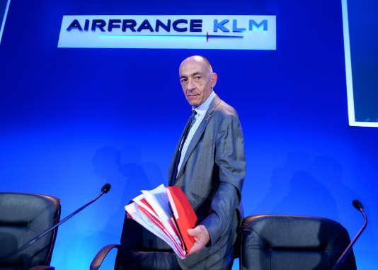 « J'ai été chargé par le conseil d'administration de trouver les moyens de remettre le groupe, et notamment Air France, sur la voie d'une croissance rentable. Si nous ne parvenons pas à un accord avec les pilotes, je serai conduit à prendre mes responsabilités. Boost devra se faire », affrime Jean-Marc Janaillac.