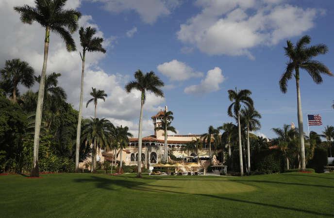 Mar-a-Lago, la résidence de Donald Trumpà Palm Beachest appelée la « Maison Blanche d'hiver ».