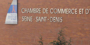 La façade du tribunal de commerce de Bobigny.