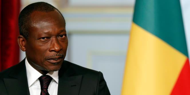 Patrice Talon, président du Bénin, à Paris, le 26 avril 2016.