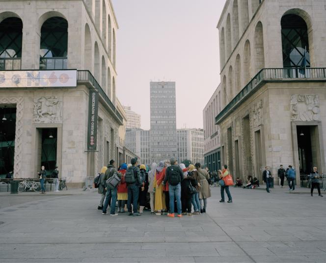 La Piazza del Duomo, à Milan.