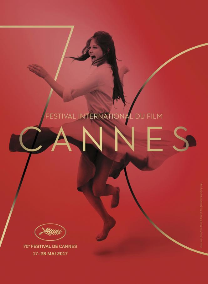 L'affiche du 70e Festival de Cannes avec la photo de Claudia Cardinale.
