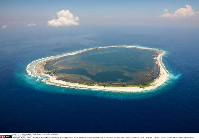 La Passion-Clipperton, un confetti de moins de 9 km2 dans l'océan Pacifique, au sud-ouest du Mexique.