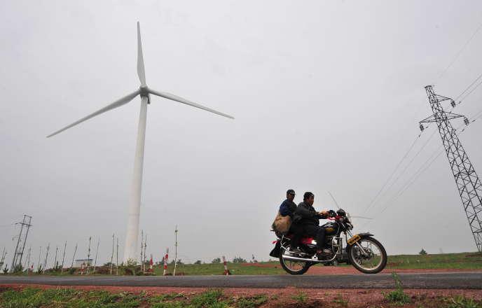 A Zhangbei, au nord de Pékin, en juin 2009.