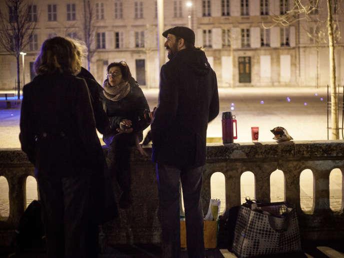 Cela fera un an le 7 avril que Nuit debout se retrouve à Niort, tous les vendredis, place des Halles.