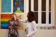 Mariela Castro (à droite) fille du président Raul Castro et la ministre néerlendaise de l'éducation, Jet Bussemaker, le 29 mars à Cuba.
