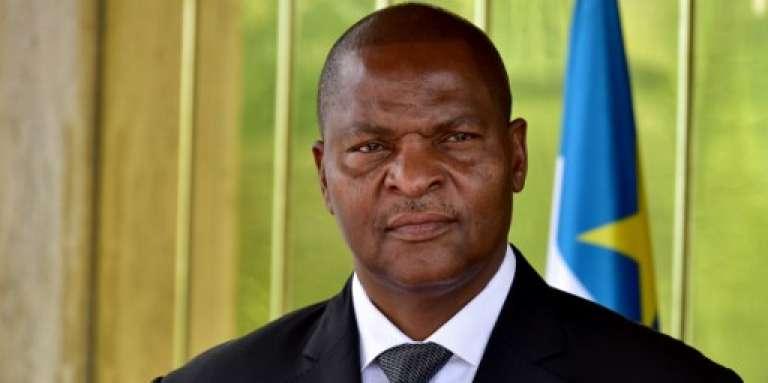 Le président de Centrafrique Faustin-Archange Touadéra, à Abidjan, le 7 novembre 2016.