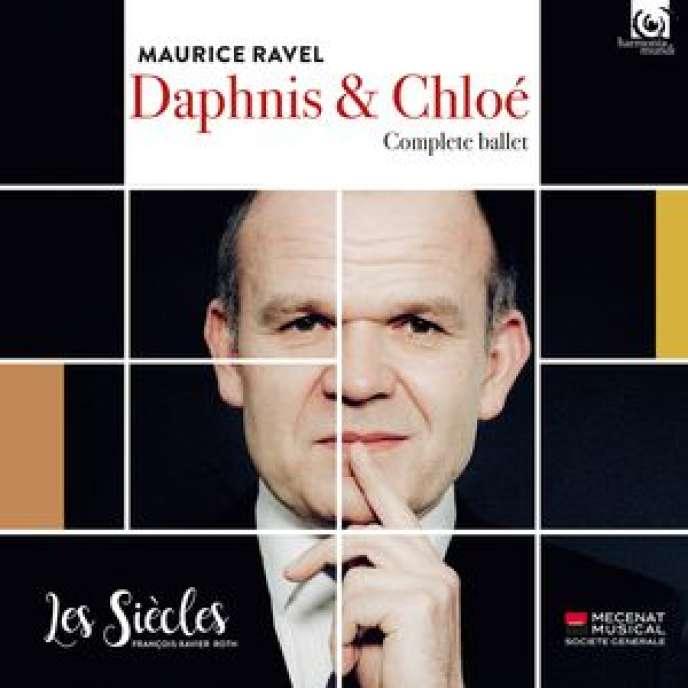 Pochette de l'album «Daphnis et Chloé» par l'Ensemble Aedes,Les Siècles.