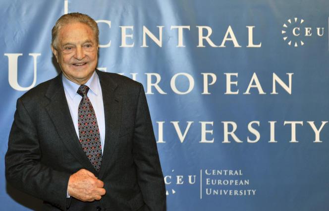 Né à Budapest, le financier américain George Soros y a fondé une université en 1991. Photo d'archive datant de 2009.