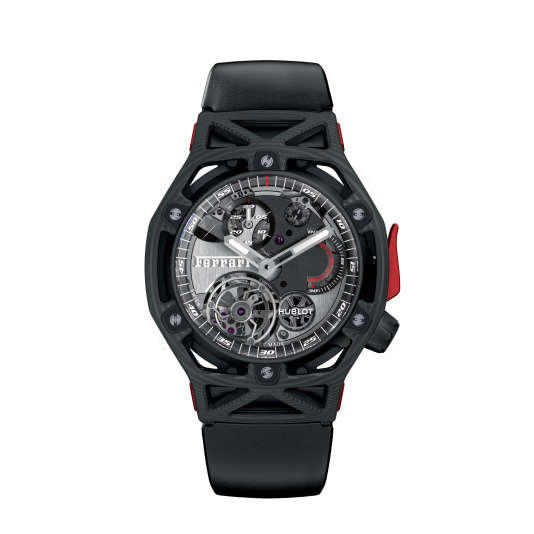 Techframe Ferrari Tourbillon Chronograph, Hublot.