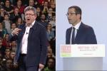 Le candidat de La France insoumise a déclaré mercredi soir, auHavre, vouloir poursuivre son propre « chemin, sans céder à rien ». Depuis Lille, Hamon a « regretté un certain caractère ».