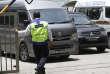 Le corps de Kim Jong-nam quitte, le 30 mars, la morgue de Kuala Lumpur (Malaisie) dans ce van, avant d'être rapatrié en Corée du Nord.
