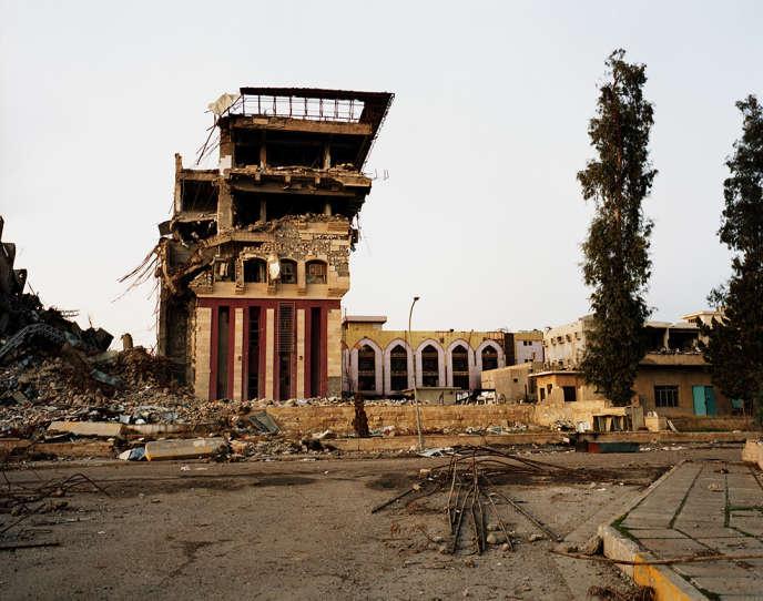 Dans Mossoul-Est, en mars.