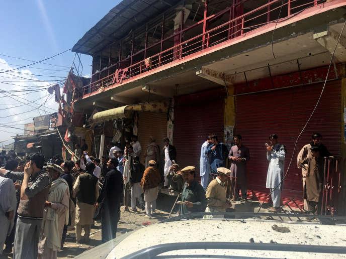 Parachinar, ville située tout près de la frontière afghane, avait déjà été endeuillée par le premier gros attentat de 2017 au Pakistan.
