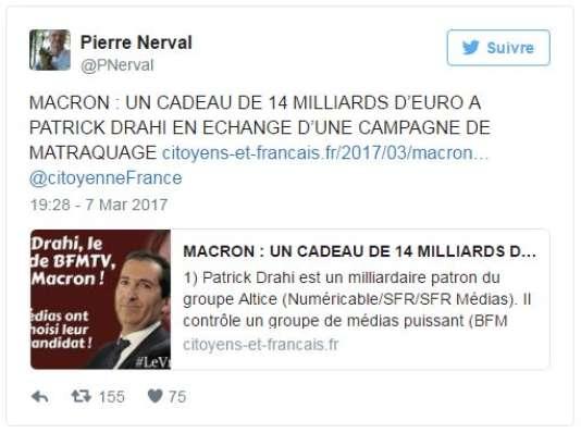 Tweet de @PNerval
