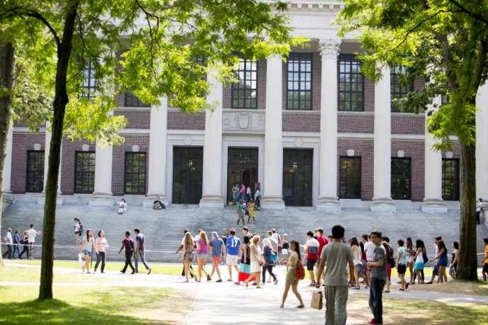 Université Harvard, aux Etats-Unis.
