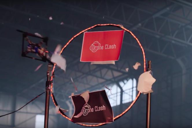 L'un des multiples obstacles que devront franchir les concurrents de DroneClash.