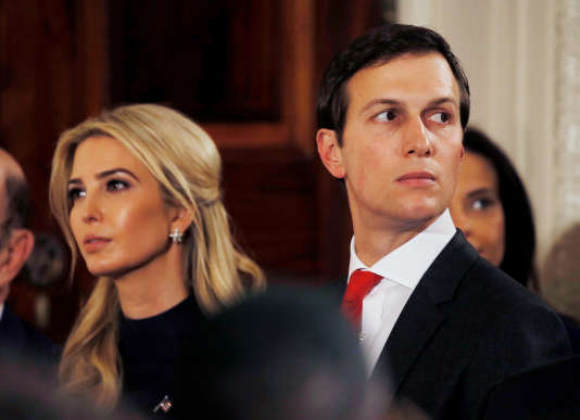 Ivanka Trump et son mari, Jared Kushner.