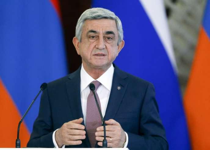 Le Parti républicain de l'actuel président Serge Sarkissian arriverait en tête des élections législatives en Arménie, selon les premières estimations à la sortie des urnes, dimanche 2 avril.